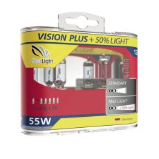 ClearLight HB3 12V-55W Vision Plus +50% Light